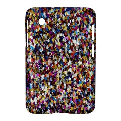 Pattern Abstract Decoration Art Samsung Galaxy Tab 2 (7 ) P3100 Hardshell Case  by Nexatart