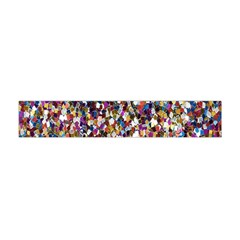 Pattern Abstract Decoration Art Flano Scarf (mini)