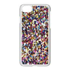 Pattern Abstract Decoration Art Apple Iphone 7 Seamless Case (white) by Nexatart