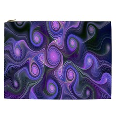 Abstract Pattern Fractal Wallpaper Cosmetic Bag (xxl)