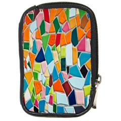 Mosaic Tiles Pattern Texture Compact Camera Cases by Nexatart