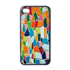 Mosaic Tiles Pattern Texture Apple Iphone 4 Case (black) by Nexatart