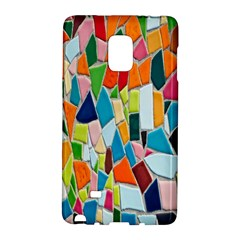 Mosaic Tiles Pattern Texture Samsung Galaxy Note Edge Hardshell Case