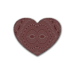 Design Pattern Abstract Heart Coaster (4 Pack)