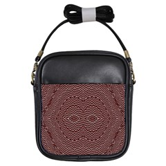 Design Pattern Abstract Girls Sling Bags