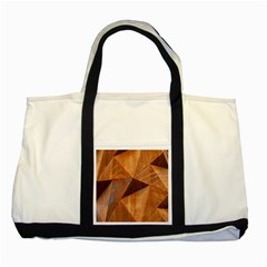 Steel Corten Steel Brown Steel Two Tone Tote Bag