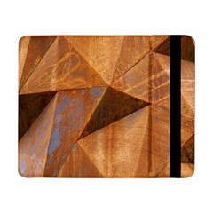 Steel Corten Steel Brown Steel Samsung Galaxy Tab Pro 8 4  Flip Case by Nexatart