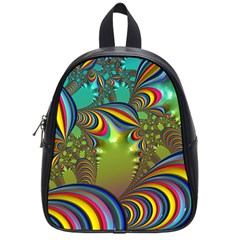 Amazing Fractal 5182 School Bag (small) by MoreColorsinLife