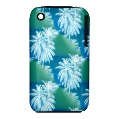 Palm Trees Tropical Beach Coastal Summer Blue Green Iphone 3s/3gs by CrypticFragmentsColors