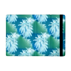 Palm Trees Tropical Beach Coastal Summer Blue Green Ipad Mini 2 Flip Cases by CrypticFragmentsColors