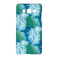 Palm Trees Tropical Beach Coastal Summer Blue Green Samsung Galaxy A5 Hardshell Case  by CrypticFragmentsColors