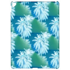 Palm Trees Tropical Beach Coastal Summer Blue Green Apple Ipad Pro 12 9   Hardshell Case by CrypticFragmentsColors