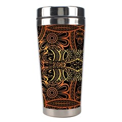 Gorgeous Aztec Design By Kiekie Strickland Stainless Steel Travel Tumblers