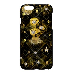 Decorative Icons Original Gold And Diamonds Creative Design By Kiekie Strickland Apple Iphone 6 Plus/6s Plus Hardshell Case by flipstylezdes