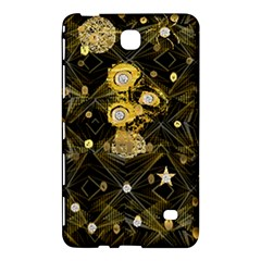 Decorative Icons Original Gold And Diamonds Creative Design By Kiekie Strickland Samsung Galaxy Tab 4 (7 ) Hardshell Case