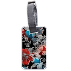 Beautiful Hibiscus Flower Design  Luggage Tags (two Sides) by flipstylezdes