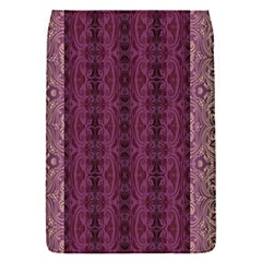 Beautiful Decorative Creative Purple Seamless Design By Kiekie Stricklnd Flap Covers (s)  by flipstylezdes
