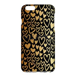 Cluster Of Tiny Gold Hearts Seamless Vector Design By Flipstylez Designs Apple Iphone 6 Plus/6s Plus Hardshell Case by flipstylezdes