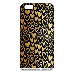 Cluster Of Tiny Gold Hearts Seamless Vector Design By Flipstylez Designs Iphone 6 Plus/6s Plus Tpu Case by flipstylezdes