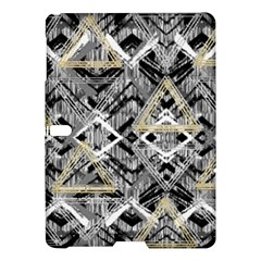 Retro Black And White Gold Design By Kiekiestrickland Samsung Galaxy Tab S (10 5 ) Hardshell Case