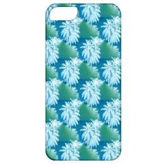 Palm Trees Tropical Beach Coastal Summer Style Small Print Apple Iphone 5 Classic Hardshell Case by CrypticFragmentsColors