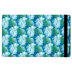 Palm Trees Tropical Beach Coastal Summer Style Small Print Apple Ipad 3/4 Flip Case by CrypticFragmentsColors