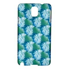 Palm Trees Tropical Beach Coastal Summer Style Small Print Samsung Galaxy Note 3 N9005 Hardshell Case by CrypticFragmentsColors
