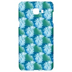 Palm Trees Tropical Beach Coastal Summer Style Small Print Samsung C9 Pro Hardshell Case  by CrypticFragmentsColors