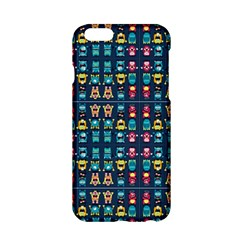 Funny Monsters In Blue Background Apple Iphone 6/6s Hardshell Case