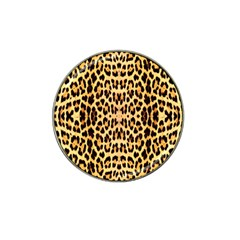 Leopard Skin Hat Clip Ball Marker (4 Pack) by ArtworkByPatrick1