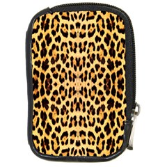 Leopard Skin Compact Camera Cases by ArtworkByPatrick1