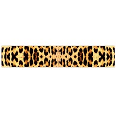 Leopard Skin Large Flano Scarf  by ArtworkByPatrick1