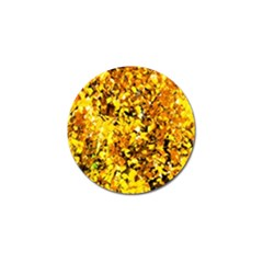 Birch Tree Yellow Leaves Golf Ball Marker (4 Pack) by FunnyCow