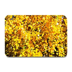 Birch Tree Yellow Leaves Plate Mats by FunnyCow