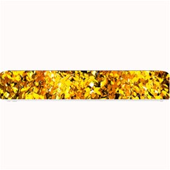 Birch Tree Yellow Leaves Small Bar Mats by FunnyCow