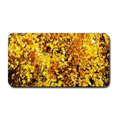 Birch Tree Yellow Leaves Medium Bar Mats by FunnyCow