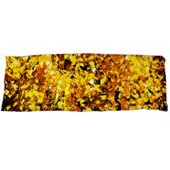 Birch Tree Yellow Leaves Body Pillow Case Dakimakura (two Sides) by FunnyCow