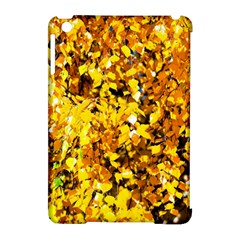 Birch Tree Yellow Leaves Apple Ipad Mini Hardshell Case (compatible With Smart Cover) by FunnyCow