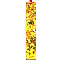 Birch Tree Yellow Leaves Large Book Marks by FunnyCow