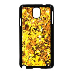 Birch Tree Yellow Leaves Samsung Galaxy Note 3 Neo Hardshell Case (black) by FunnyCow