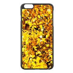 Birch Tree Yellow Leaves Apple Iphone 6 Plus/6s Plus Black Enamel Case by FunnyCow