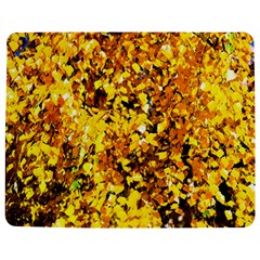Birch Tree Yellow Leaves Jigsaw Puzzle Photo Stand (rectangular) by FunnyCow