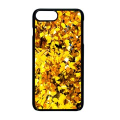 Birch Tree Yellow Leaves Apple Iphone 8 Plus Seamless Case (black) by FunnyCow