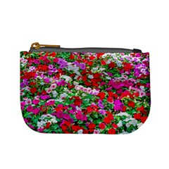 Colorful Petunia Flowers Mini Coin Purses by FunnyCow