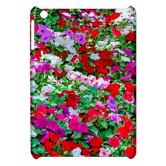 Colorful Petunia Flowers Apple Ipad Mini Hardshell Case by FunnyCow