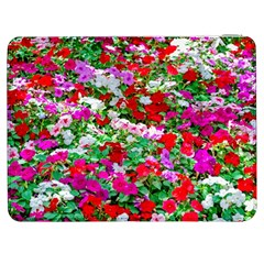 Colorful Petunia Flowers Samsung Galaxy Tab 7  P1000 Flip Case by FunnyCow