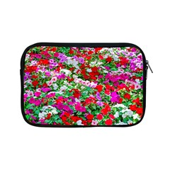 Colorful Petunia Flowers Apple Ipad Mini Zipper Cases by FunnyCow