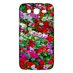 Colorful Petunia Flowers Samsung Galaxy Mega 5 8 I9152 Hardshell Case  by FunnyCow