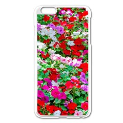 Colorful Petunia Flowers Apple Iphone 6 Plus/6s Plus Enamel White Case by FunnyCow