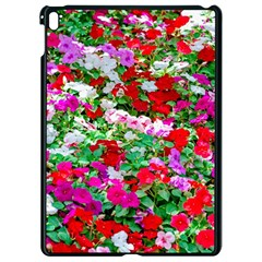 Colorful Petunia Flowers Apple Ipad Pro 9 7   Black Seamless Case by FunnyCow